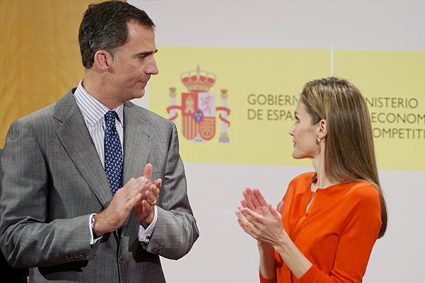 Spanish Royals Attend Delivery of National Innovation and Design Awards 2013