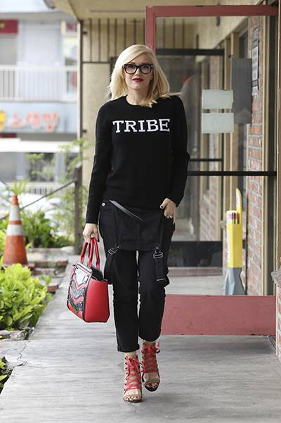 Gwen Stefani visits an Acupuncture clinic in Korea Town, CA