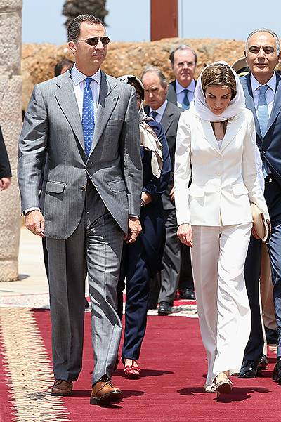 Spanish Royals Visit Morocco - Day 2