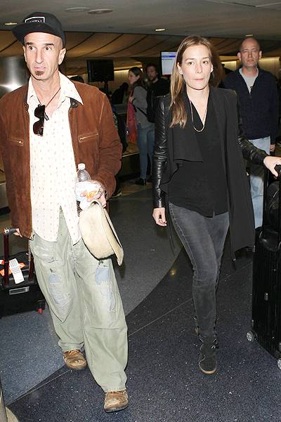 Celebrities arrive at LAX (Los Angeles International) airport Featuring: Piper Perabo,Stephen Kay Where: Los Angeles, California, United States When: 20 Dec 2013 Credit: WENN.com