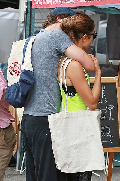 Ian Somerhalder and Nikki Reed heat things up at the Farmers Market