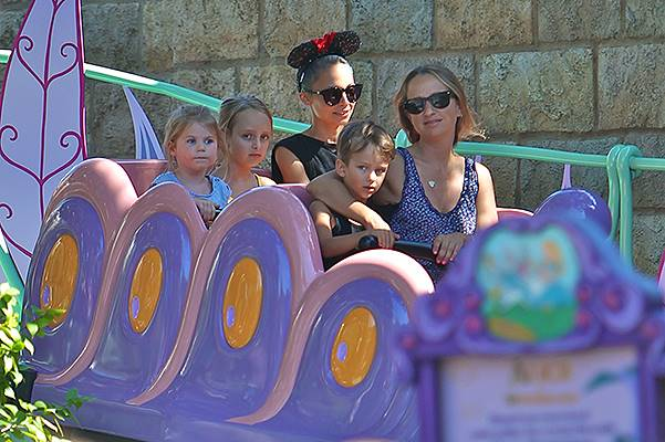 Nicole Richie spends the day at Disneyland with her children and Jennifer Meyer. Featuring: Nicole Richie,Jennifer Meyer Where: Anaheim, California, United States When: 20 Jul 2014 Credit: VALPO NNEWs/WENN.com