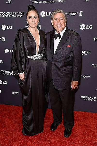 "Tony Bennett and Lady Gaga ""Cheek To Cheek"" Taping - Red Carpet"