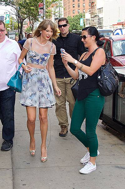 Taylor Swift spotted outside her gym in the East Village in New York City Featuring: Taylor Swift Where: New York City, New York, United States When: 30 Jul 2014 Credit: Alberto Reyes/WENN.com