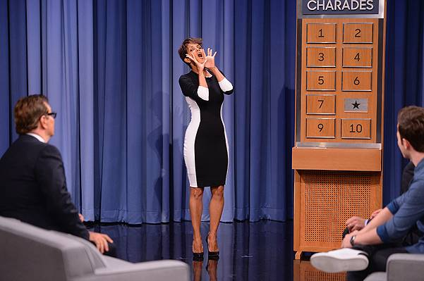 "Halle Berry Visits ""The Tonight Show Starring Jimmy Fallon"""
