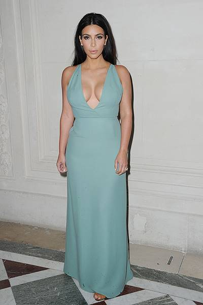 Paris Fashion Week Haute Couture Fall/Winter 2014-2015 - Valentino - Front Row and Arrivals Featuring: Kim Kardashian Where: Paris, France When: 10 Jul 2014 Credit: SIPA/WENN.com **Only available for publication in Germany. Not available for publication