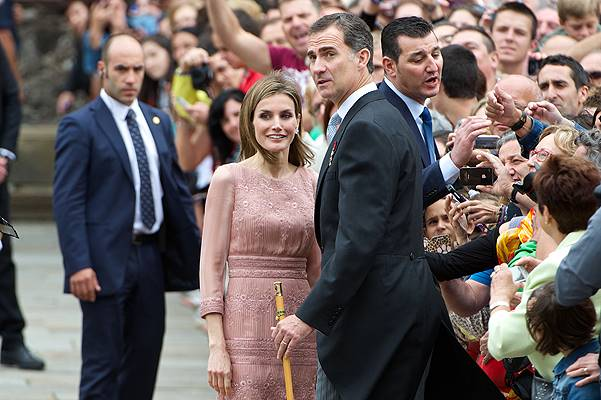 Spanish Royals Visit Santiago de Compostela on the Anniversary of the Train Accident