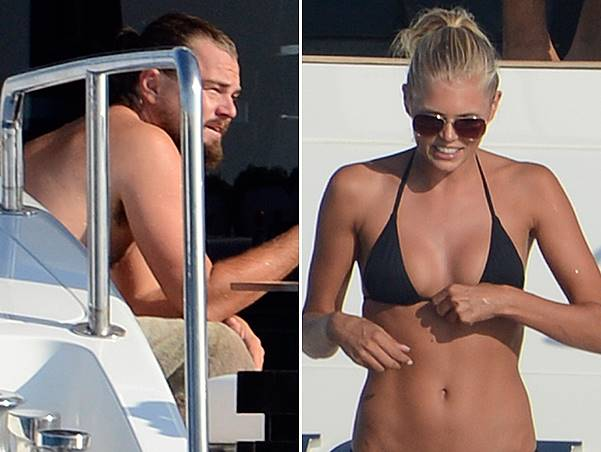Leonardo DiCaprio seen on holiday in Formentera