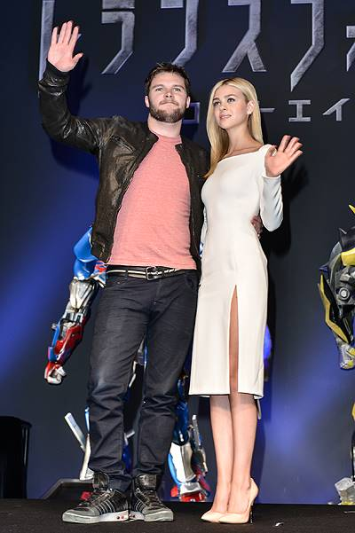 Press Conference For Japan Premiere Of 'Transformers : Age of Extinction'