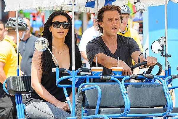 Kim Kardashian out and about in the Jersey Shore