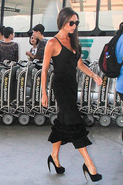 Victoria Beckham is a Fashionable Jetsetter