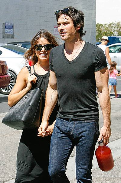 Nikki Reed and Ian Somerhalder are the perfect display of Happiness