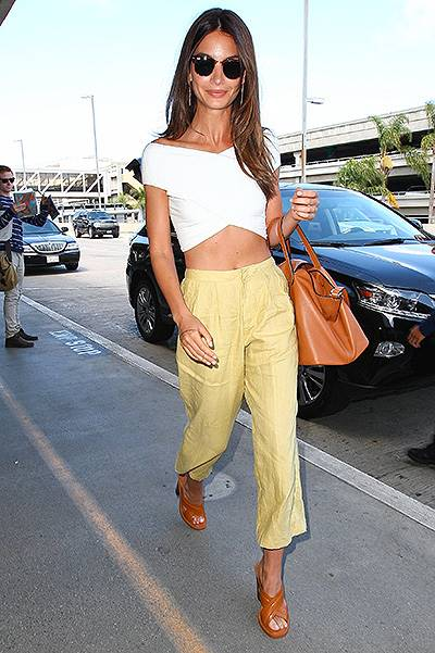 Lily Aldridge is picture perfect at the Airport