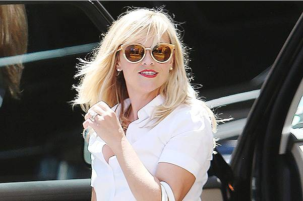 Reese Witherspoon leaving a hotel in Beverly Hills***NO DAILY MAIL SALES***