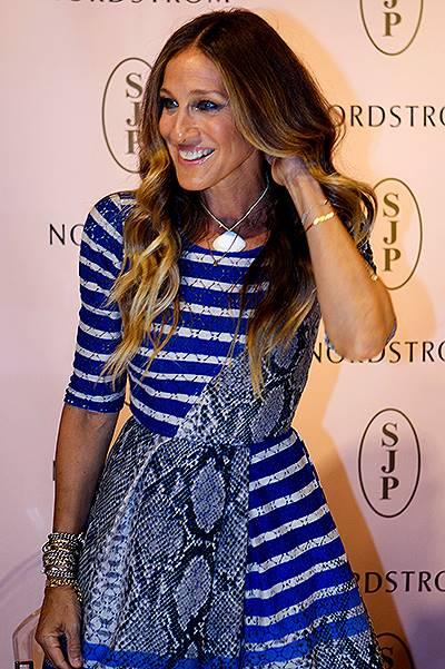 Sarah Jessica Parker Meets Customers During SJP Collection Event At Nordstrom Houston Galleria