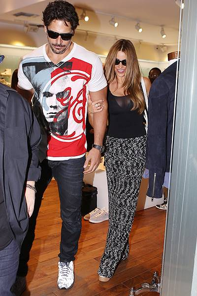 Sofia Vergara and boyfriend Joe Manganiello