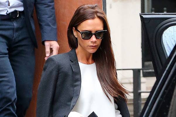 EXCLUSIVE: Victoria Beckham visits her new London clothes store