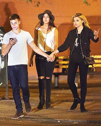 EXCLUSIVE: Chloe Moretz spotted holding hands with her boyfriend in NYC