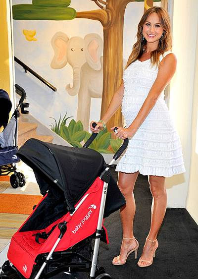 Stacy Keibler Hosts The Launch Of The VUE Stroller By Baby Jogger At Bel Bambini.