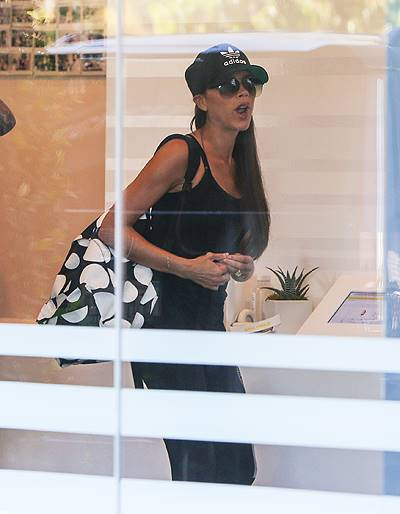 Victoria Beckham seen at SoulCycle