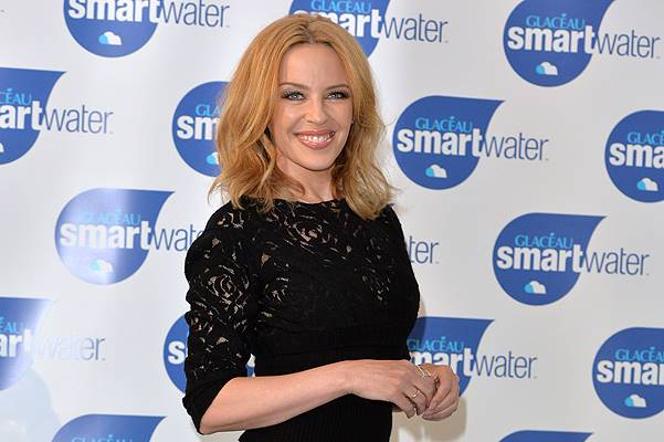 Kylie Minogue Launches Glaceau Smartwater