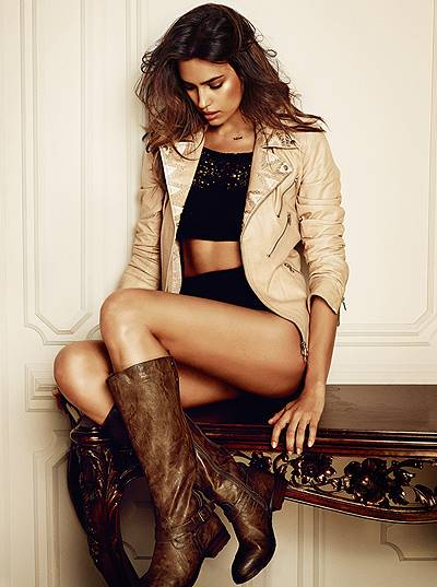 Irina Shayk and Stephen James in the new Autumn/Winter 2014 Collection for Spanish shoe brand XTI