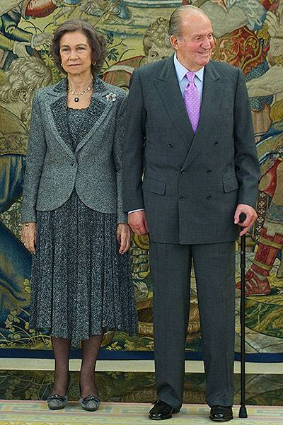 Spanish Royals Deliver 'Gran Cruz Al Merito Deportivo' Award