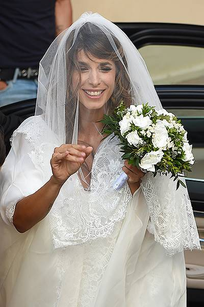 Elisabetta Canalis and Brian Perri's wedding in Italy