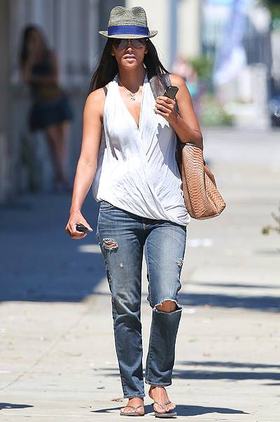 *EXCLUSIVE* Halle Berry opts for a new longer look