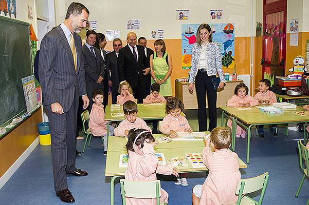 Spanish Royals attend the Opening of the School Courses