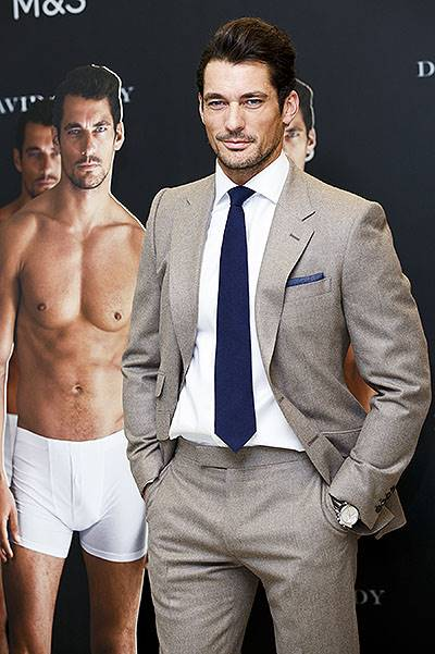 David Gandy For M&S Autograph - Photocall
