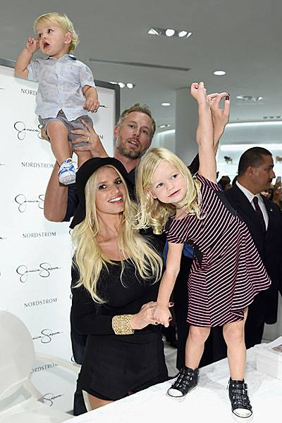 Jessica Simpson & Nordstrom Present A Fashion Show At The Grove