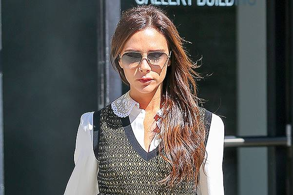 Victoria Beckham leaves her hotel in NYC looking Business Chic - Part 2