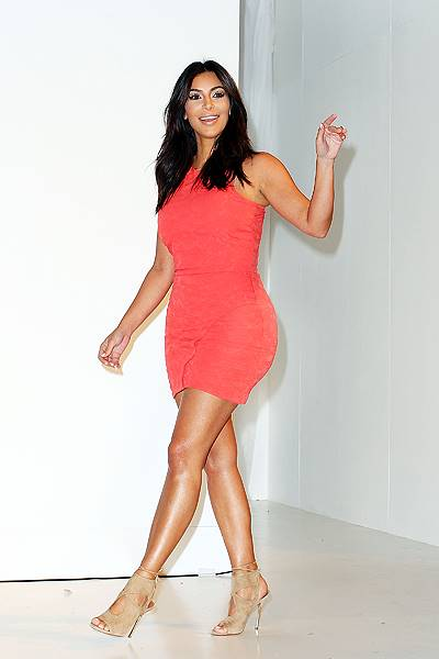 Kim Kardashian Attends The Kardashian Kollection Spring Launch At Westfield Parramatta