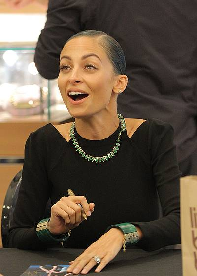 Nicole Richie does meet & greet at Bloomingdales in SoHo for her jewelry line House of Harlow