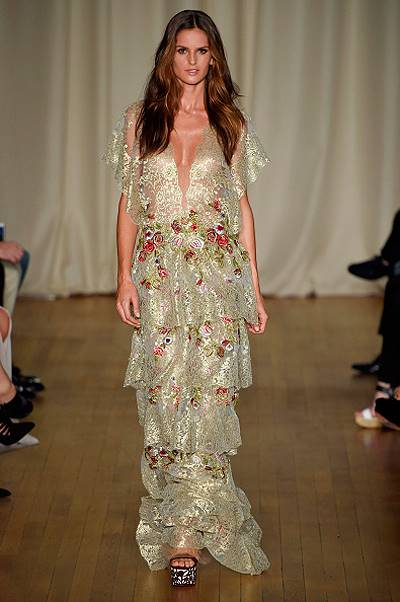 Marchesa - Runway RTW - Spring 2015 - London Fashion Week