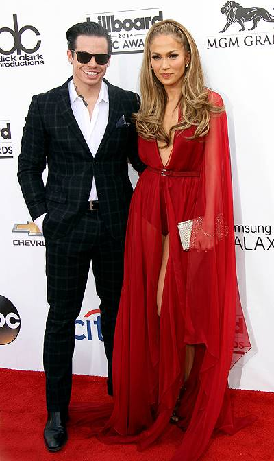 2014 Billboard Awards held at the MGM Grand Resort Hotel and Casino - Arrivals Featuring: Jennifer Lopez,Casper Smart Where: Las Vegas, Nevada, United States When: 18 May 2014 Credit: DJDM/WENN.com