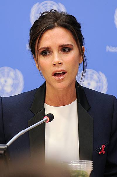 Victoria Beckham at the UN
