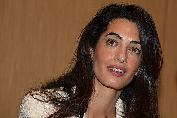 Amal Clooney visits the new Acropolis Museum in Athens, Greece
