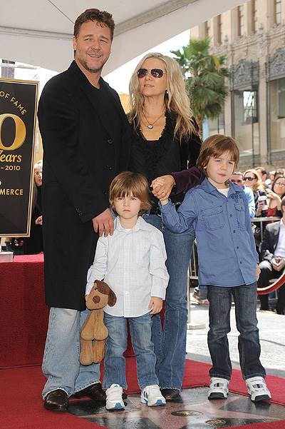 Russell Crowe Honored On The Hollywood Walk Of Fame