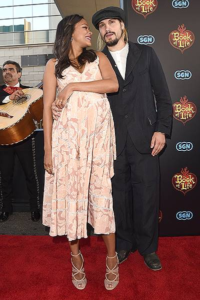 """Premiere Of Twentieth Century Fox And Reel FX Animation Studios' """"The Book Of Life"""" - Red Carpet"""