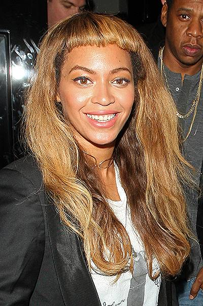 Beyonc?? and Jay Z leave The Arts Club in London