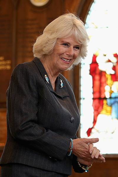 Duchess Of Cornwall Visits Kent