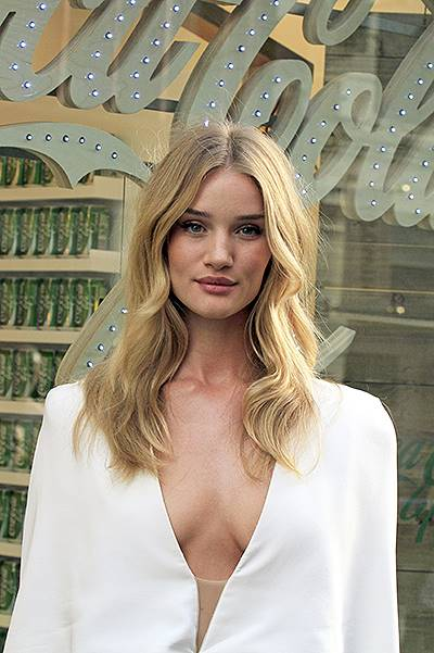 Rosie Huntington-Whiteley At The Launch Of New Coca-Cola Life Drink In London