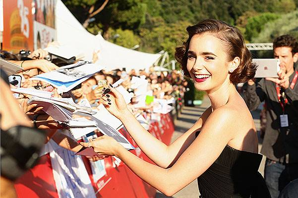 'Love, Rosie' Red Carpet - The 9th Rome Film Festival