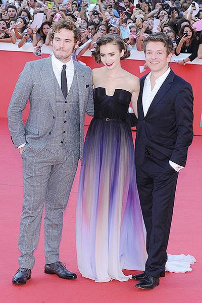 Rome Film Festival - 'Love, Rosie' - Premiere Featuring: Christian Ditter,Lily Collins,Sam Claflin Where: Rome, Italy When: 19 Oct 2014 Credit: WENN.com **Not available for publication in Italy**