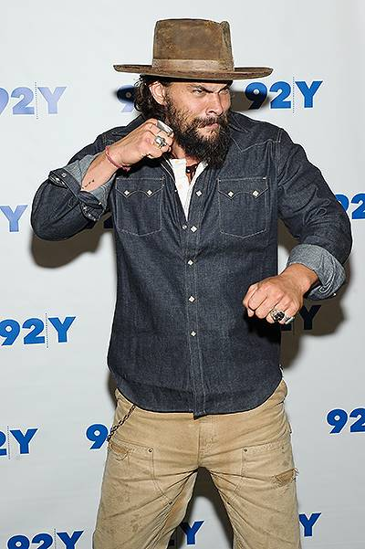 92nd Street Y Presents: And Evening With Jason Momoa And Thelma Adams