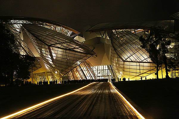 Fondation Louis Vuitton Opening