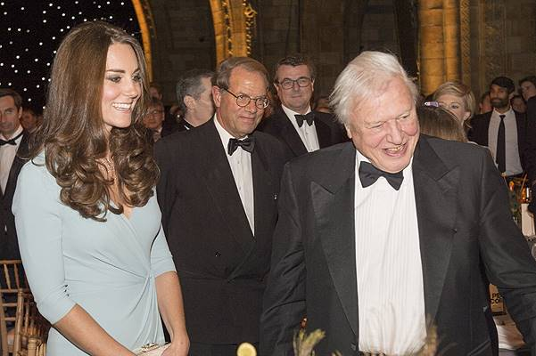 The Duchess Of Cambridge Attends The Wildlife Photographer of The Year 2014 Awards