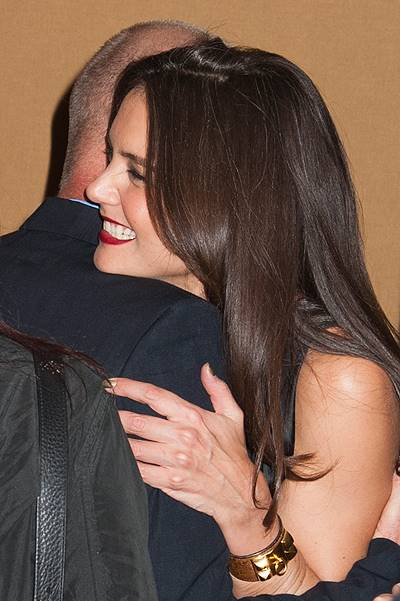 Katie Holmes attends 2014 Skin Cancer Foundation gala